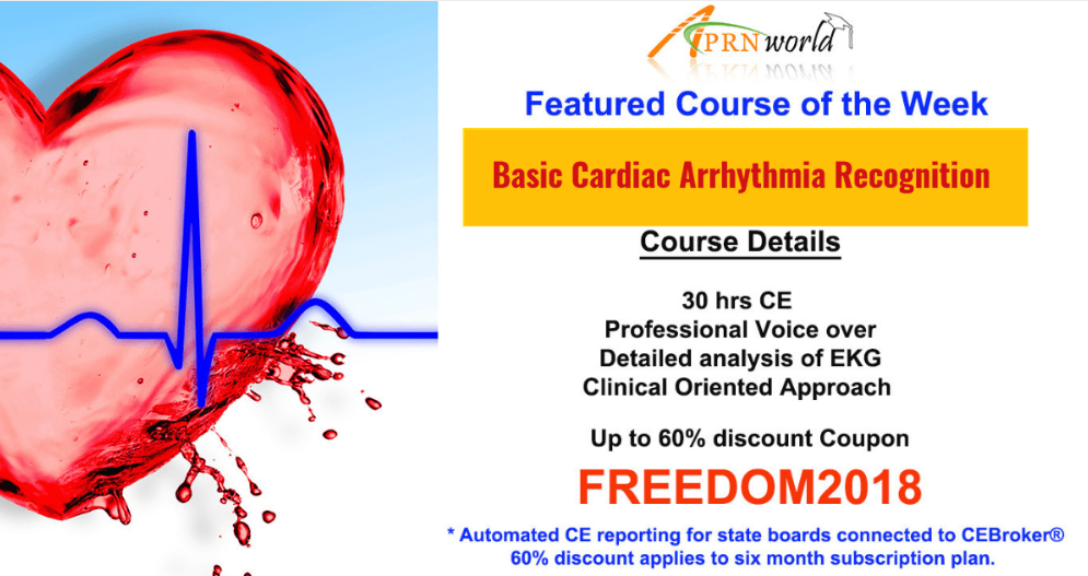 Basic Cardiac Arrhythmia Recognition Course Certification Online