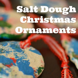 Make easy salt dough Christmas ornaments with your kids. Frugal, festive and fun!