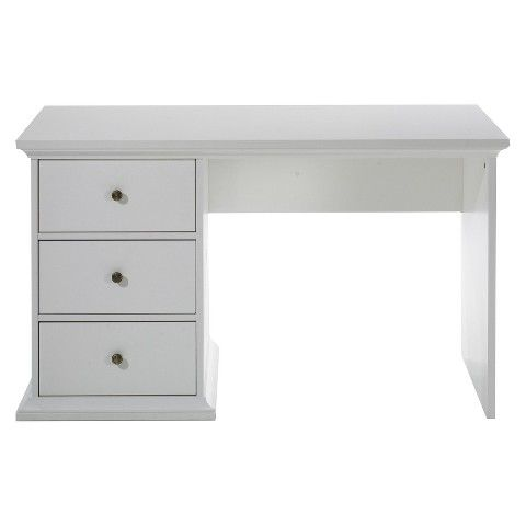 Tvilum Paris Desk Writing Desk White White Writing Desk White