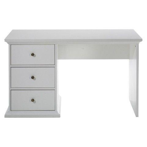 Somerset White Writing Desk Target 210
