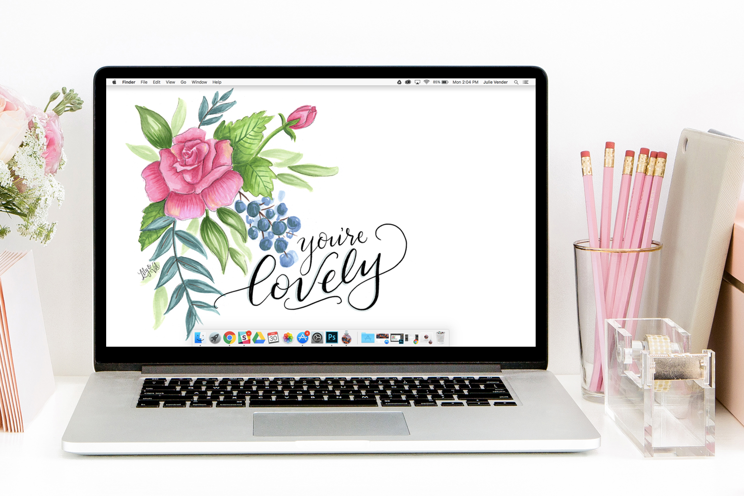 february free download you re lovely everything office rh pinterest com