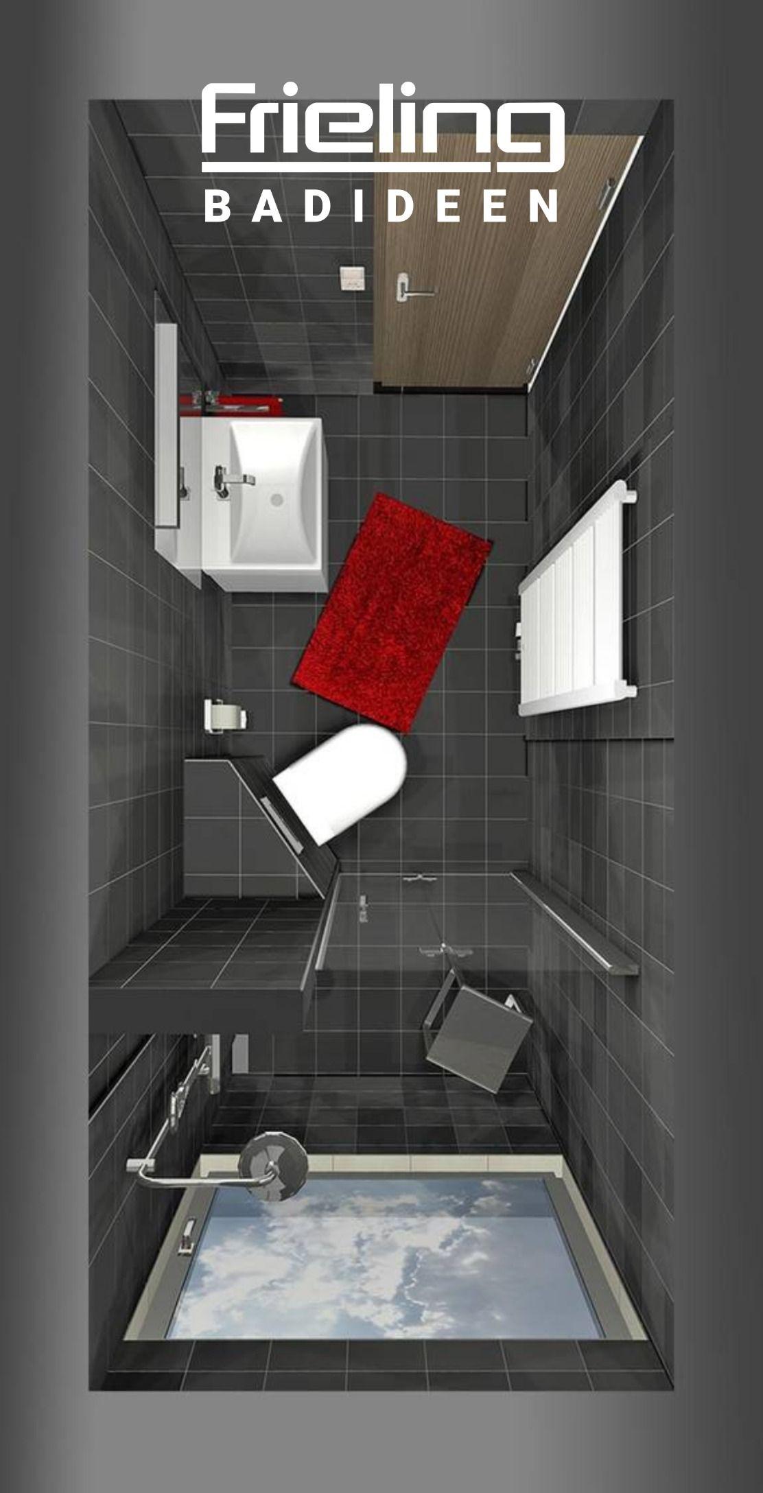 Das Schlauchbad 3d Planung Schwarz Gleich Weiss 5 Qm Schwarzes Bad Akzente Mit Acce In 2020 Kleine Fliesen Dusche Badezimmer Ohne Fenster Kleines Bad Einrichten