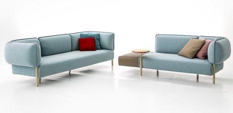 Patricia Urquiola Upholsters Modular Sofa For Moroso In Jersey