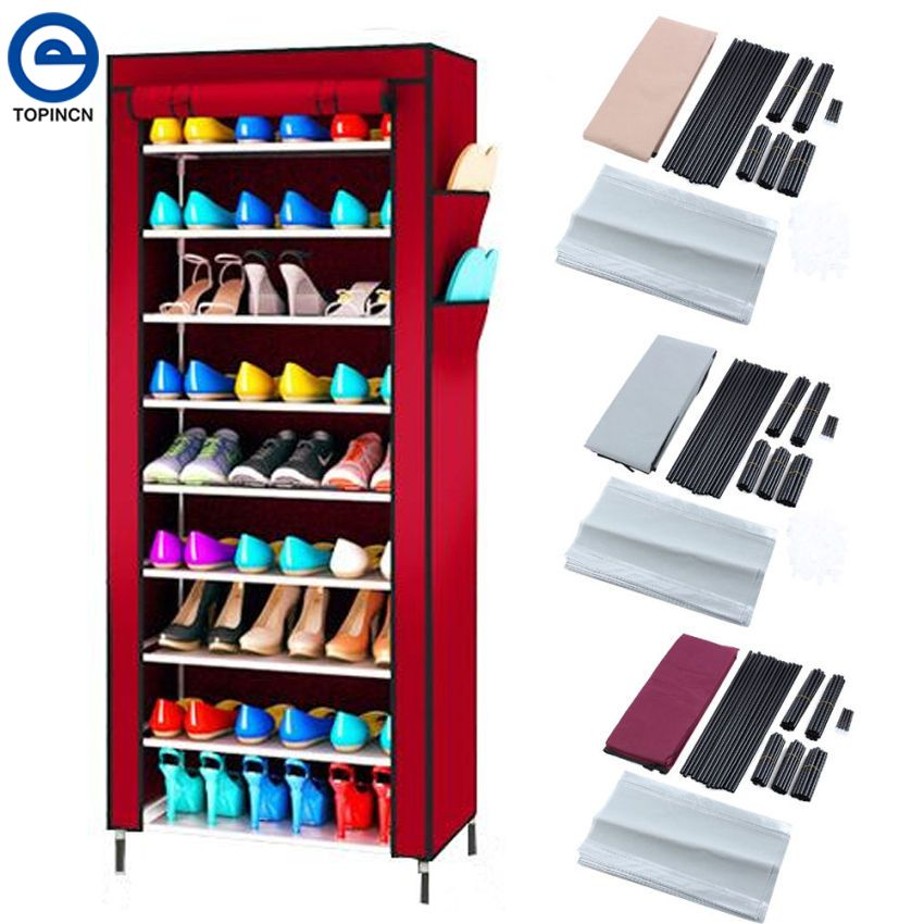 Home Storage & Organization Analytical 2017 Fashion Shoe Racks Modern Double Cleaning Storage Shoes Rack Living Room Convenient Shoebox Shoes Organizer Stand Shelf Home & Garden