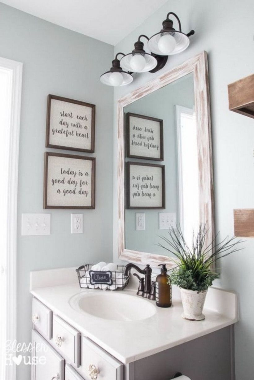 farmhouse bathroom ideas for small space 39 bathroom modern rh pinterest com