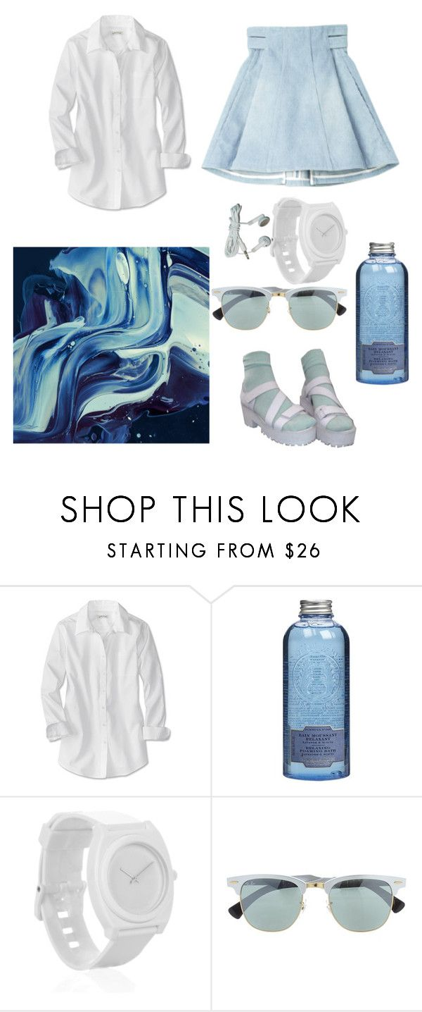 """""""Just..."""" by lepaolss on Polyvore featuring moda, Balmain, Le Couvent des Minimes, Nixon y Ray-Ban"""