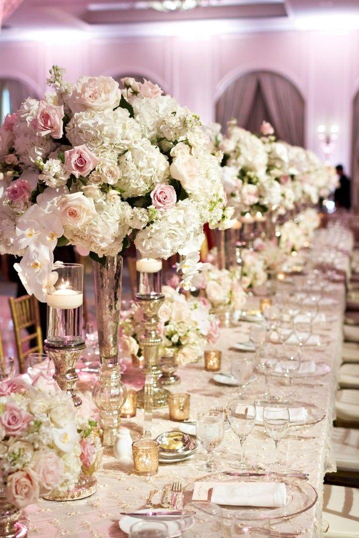 Dreamy and Glamorous Texas Wedding Wedding CandelabraWedding