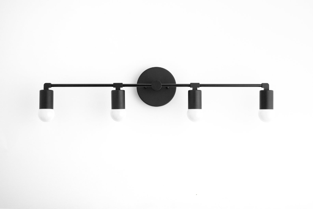 Photo of Brass Vanity Lamp – Long Vanity Light – 4 Bulb – Bathroom Light – Vanity Light Fixture – Bathroom Fixtures – Mirror Lights – Model No. 5003