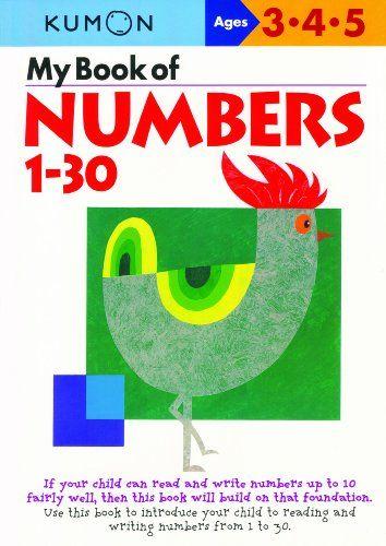 My Book Of Numbers 1-30 (Kumon Workbooks) by Kumon | toddler ...