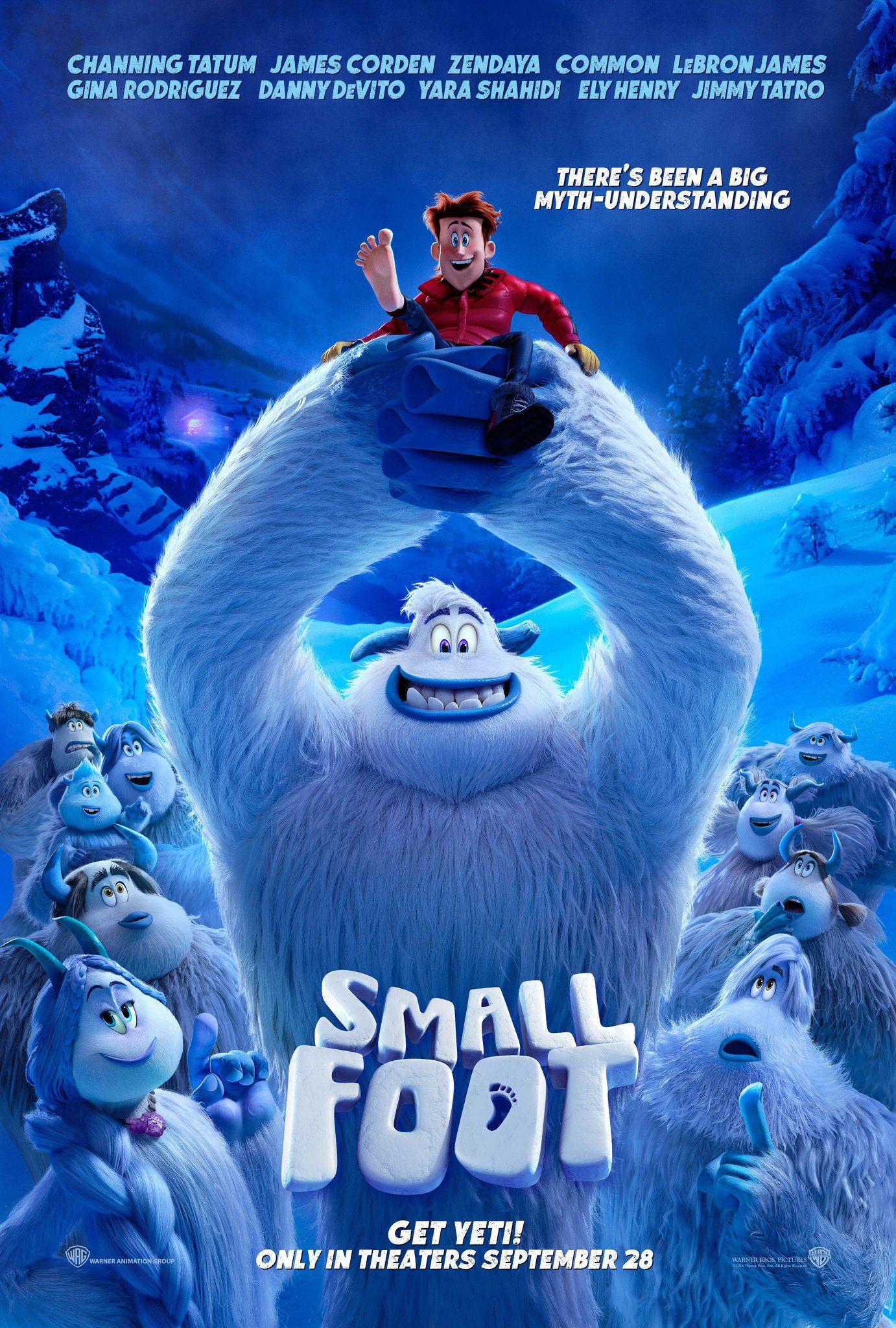SMALLFOOT In theaters September 28, 2018 Ver películas