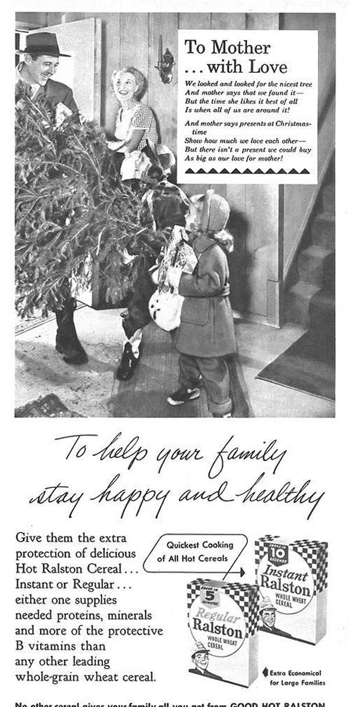 Vintage Christmas Ads   Abduzeedo Design Inspiration
