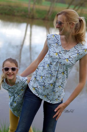 Photo of SunnyMe- mit meiner neuen Videoanleitung einfach ein zeitloses Shirt für den Sommer nähen • FinasIdeen