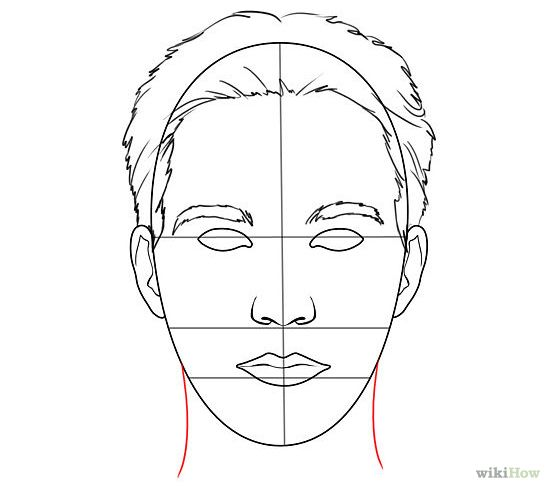 Line Drawing Of Human Face : Draw human faces art handouts figure drawing and drawings