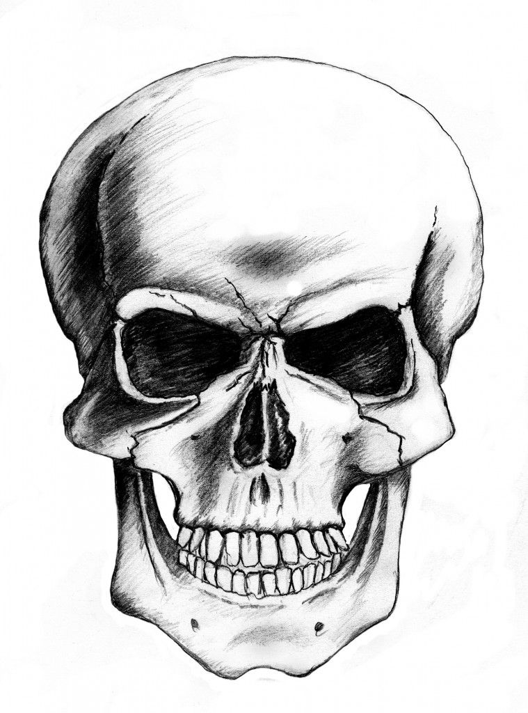 Skull Drawing - Dr. Odd | Art/craft techniques to REMEMBER ...