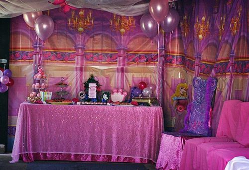 Princess Castle Backdrop | ... And Crowns As Well As Each Little Princess  Received