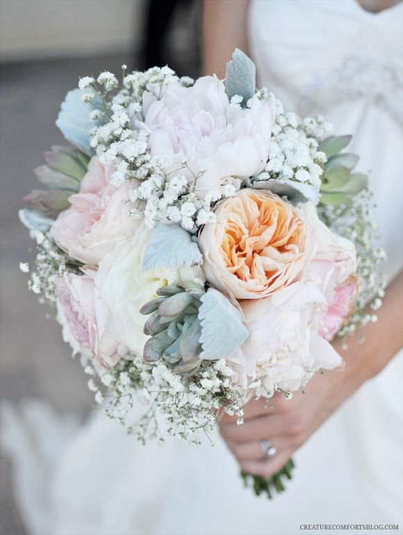 blush peonies peony rose sister wedding baby s breath sweet peas dusty