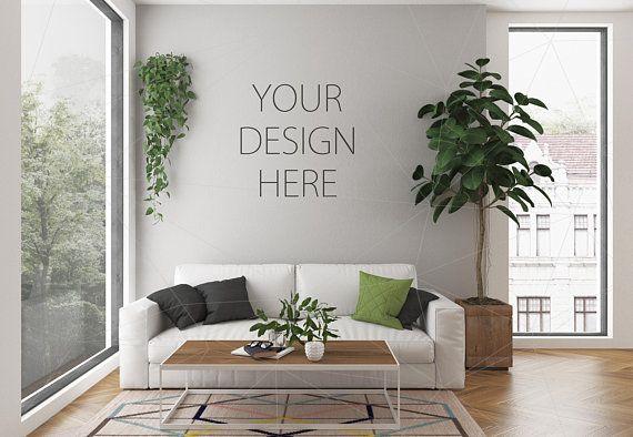 Download Free Blank Wall Mockup Art Lounge Interior Mockup Living Room Psd Free Psd Mockups Mockup Free Psd Free Psd Mockups Templates Design Mockup Free