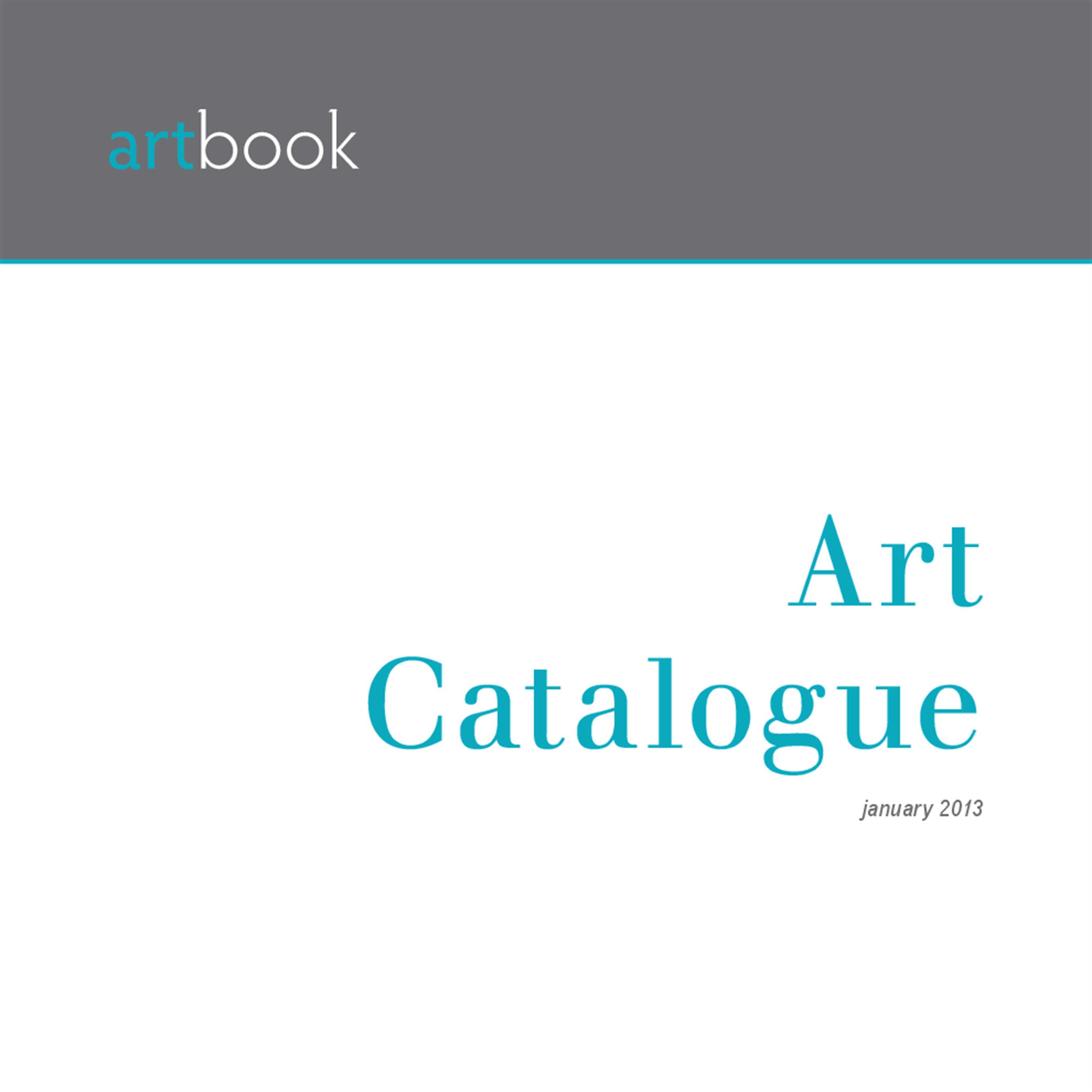 Download Free Art Catalogue InDesign template and create your ...