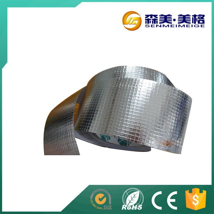 Scrim Silver Foil Insulation Tape For Air Conditioning Ducts Ducted Air Conditioning Foil Insulation Air Conditioning