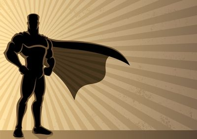 Peace Love Profits Superhero Background Superhero Silhouette Superhero