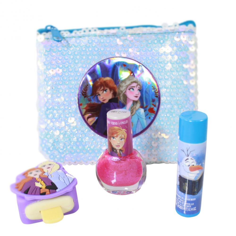 Disney Frozen 2 Girls Dress Up Cosmetic Beauty Set Walmart Com Frozen Toys Cosmetic Sets Girl School Supplies