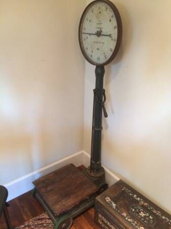 vintage old antique scale salter s it s a weighty matter rh pinterest com