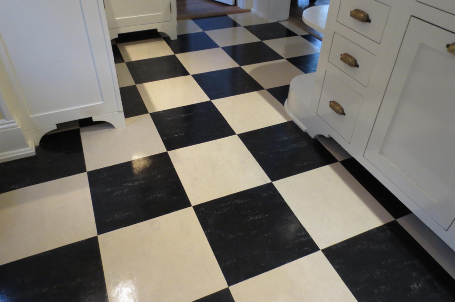 Aronson S Linoleum Tiles Rubber Flooring Kitchen Rubber Floor Tiles Flooring