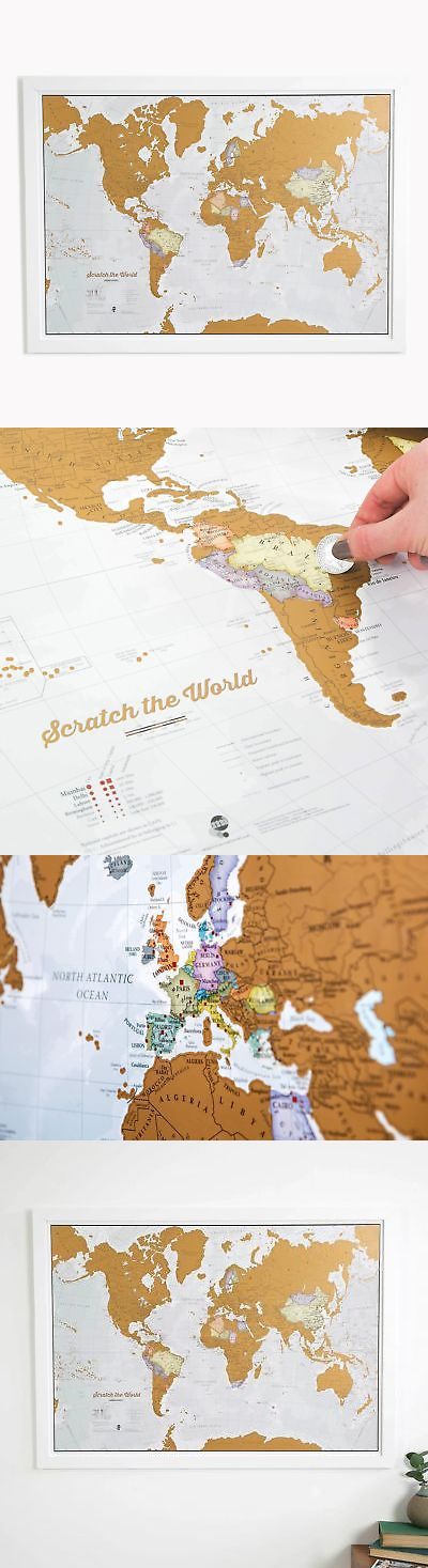 Other Travel Maps 164807 Scratch The World
