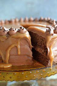 Bitchy Baker: Chocolate Caramel Dream Cake