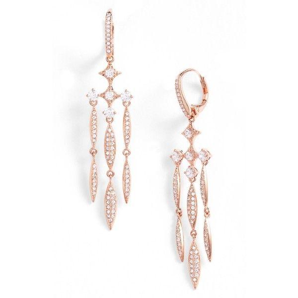 Womens Nadri Cardamom Chandelier Earrings 82 liked on