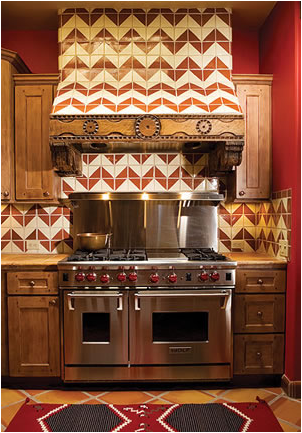 southwestern kitchen ideas design inspiration of interior room and rh pinterest com
