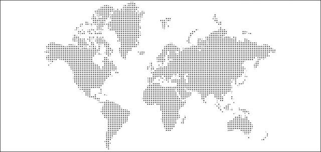 World map dots via muralsyourway future remodel pinterest world map dots via muralsyourway gumiabroncs Gallery