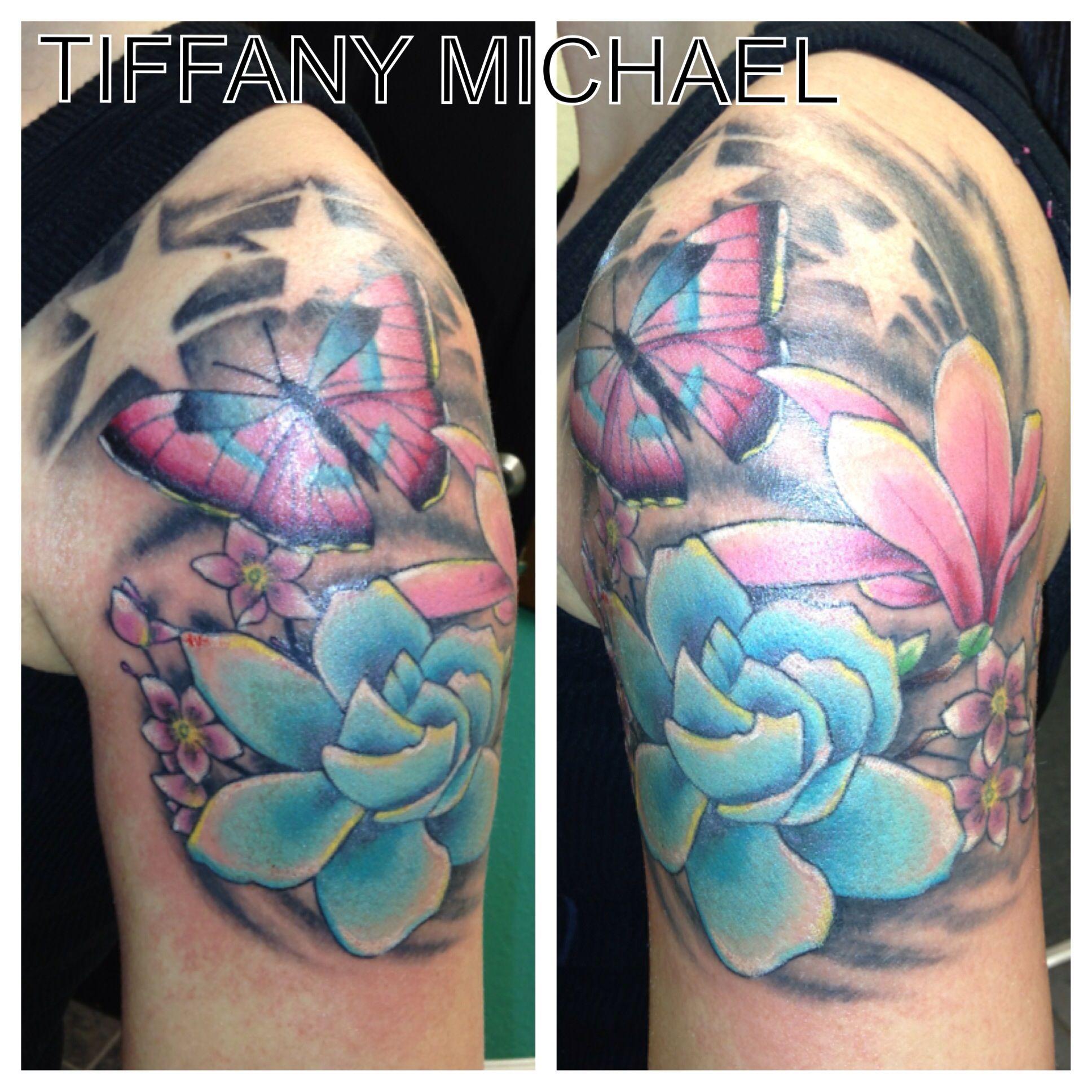 Chest To 1 4 Sleeve Koi Fish And Lotus Tattoo: Tattoos, Arm Sleeve Tattoos