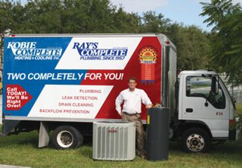 Ted Steele, Owner of Kobie Complete and Rays Plumbing ...