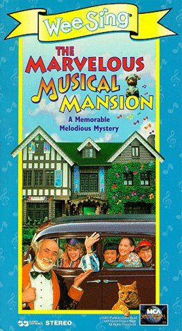 Wee Sing The Best Christmas Ever Vhs.Wee Sing The Marvelous Musical Mansion Vhs Throwbacks