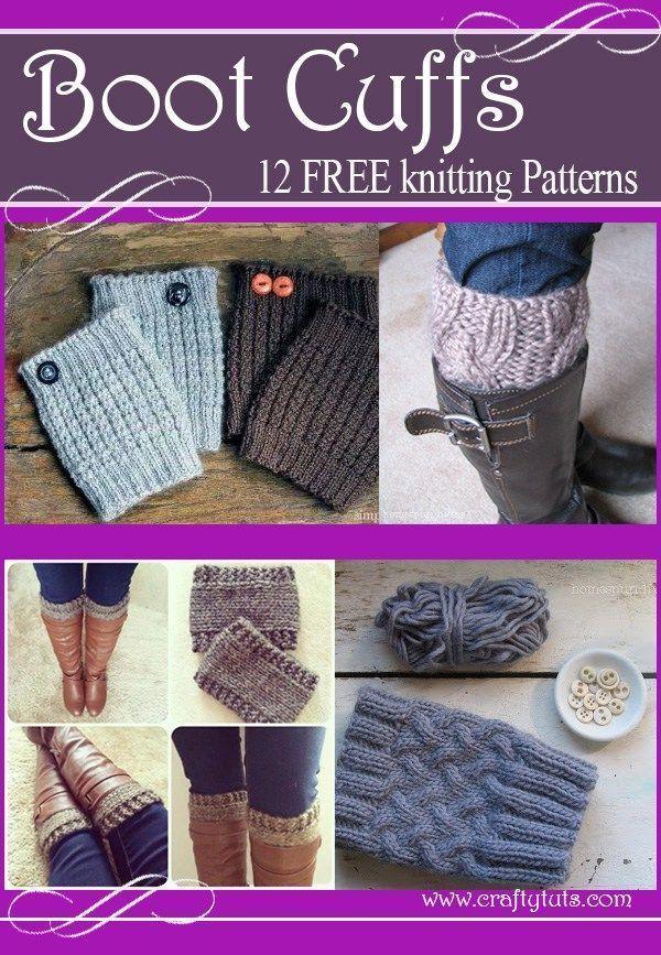 Boot cuffs free knitting patterns. List of free knitting ...