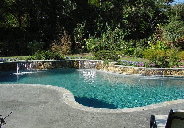 15 remarkable free form pool designs pool designs backyard and free rh pinterest com
