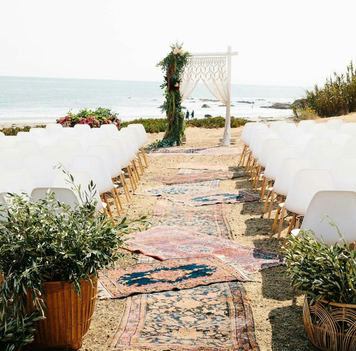 beach wedding places in california%0A The dreamiest aisle leading up to a view of the ocean  This wedding in  California now  link in bio  Want to recreate this look  The latest  installment of