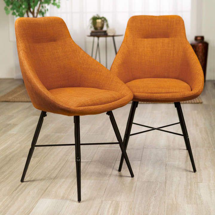 Pier 1 Imports Urban Orange Upholstered Chair