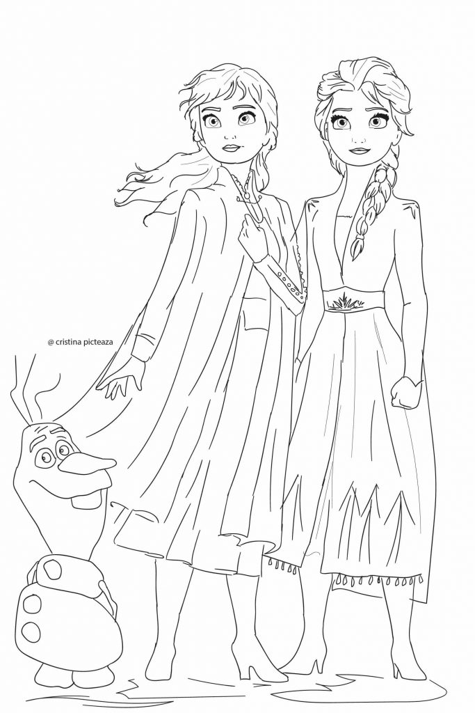 Frozen 2 Coloring Pages Elsa And Anna Coloring Elsa Coloring Pages Disney Princess Coloring Pages Princess Coloring Pages