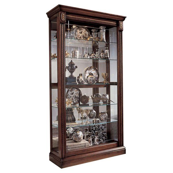 nancy lighted curio cabinet in 2019 style and decor china rh pinterest com