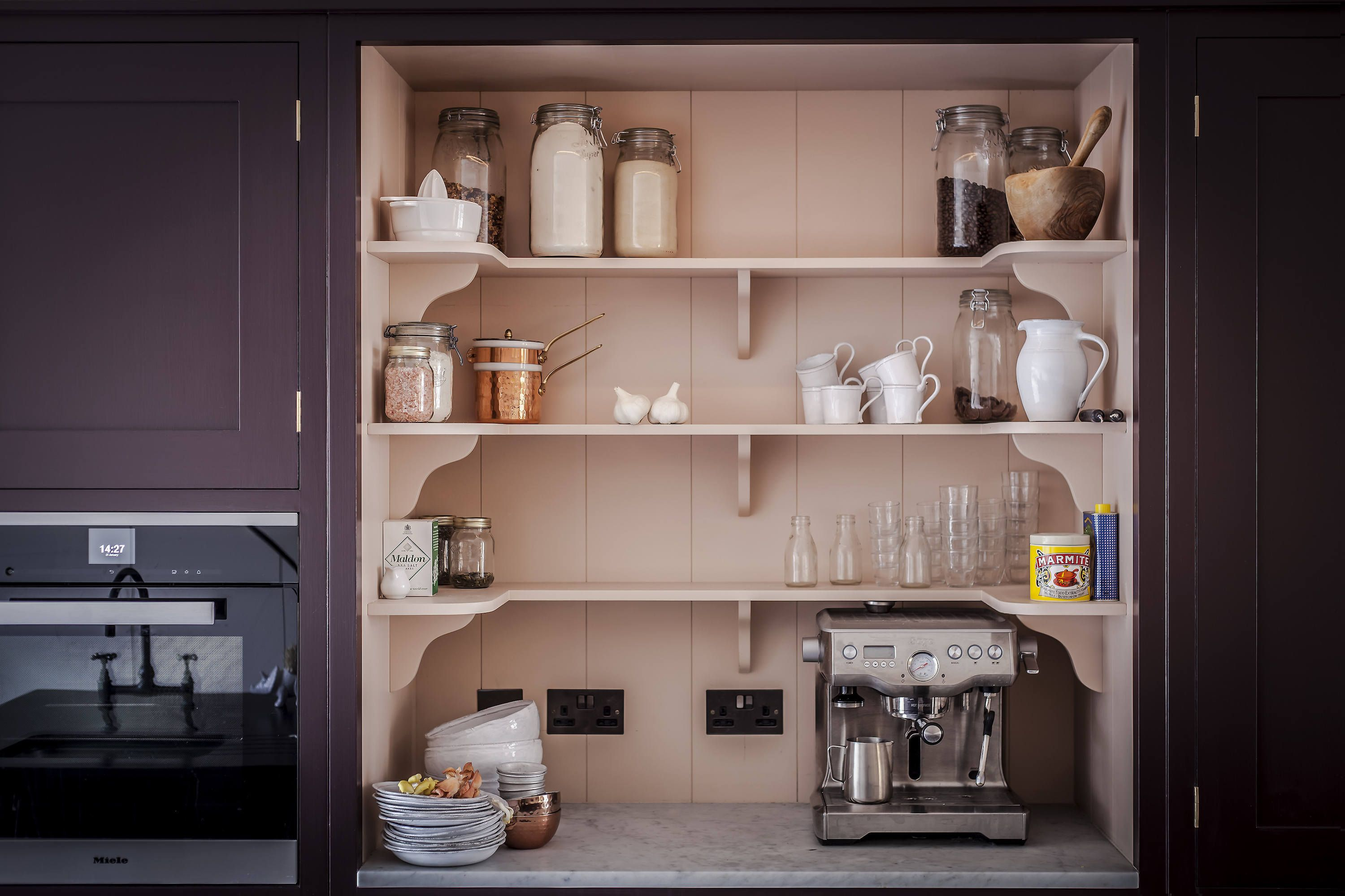 In Plain English: 8 Storage Ideas to Steal from the Brit Kitchen Design Firm - The Organized Home