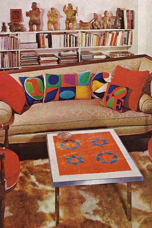 1970 interior design from House & Garden   Funkadelic - a ...
