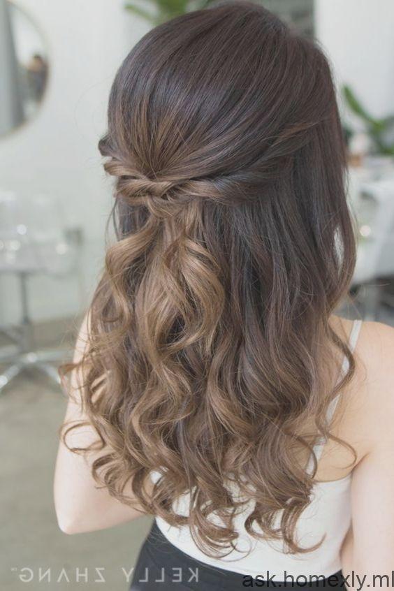 einfache diy prom frisuren für mittleres haar #einfache #