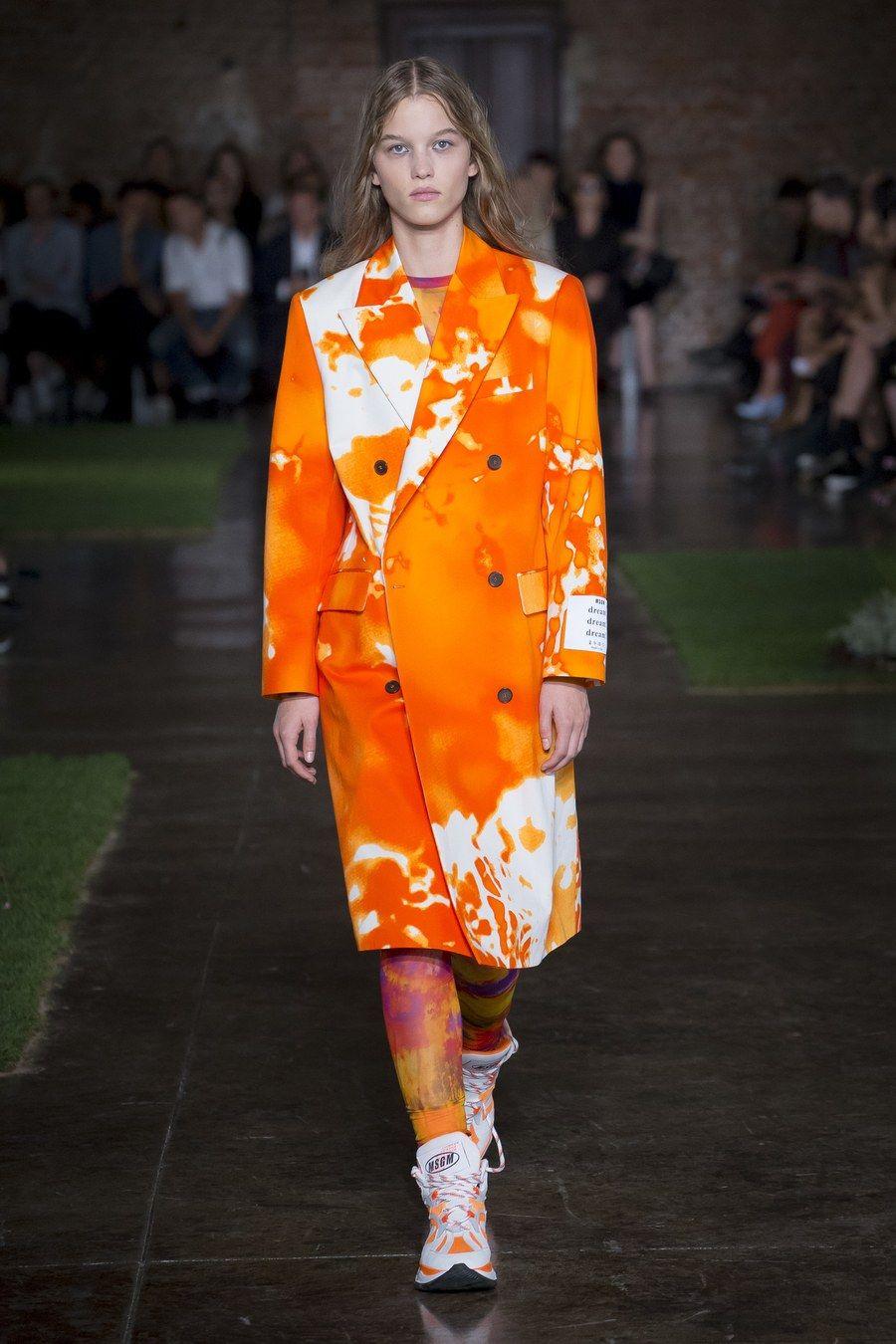 MSGM Spring 2019 ReadytoWear Fashion Show Модные стили