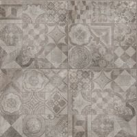 Eclipse Patchwork Decor Iron Grey 60x60 Matt Tile | Wall Tiles, Bathroom Tiles, Floor Tiles | OnlineTileShop.co.uk