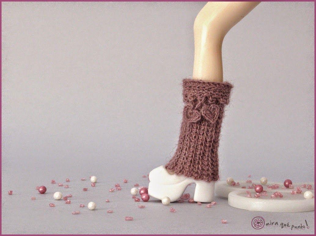 Saint Valentine leg warmers for Blythe | Knitting & Crochet MQP ...