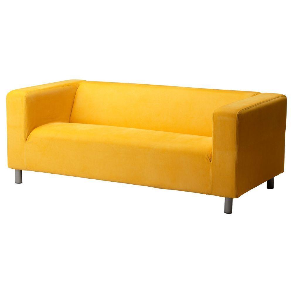 ikea klippan slipcover leaby yellow sofa loveseat cover corduroy rh pinterest com