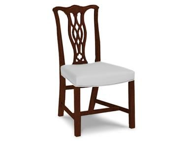 shop for hickory chair carolina chippendale side chair 856 02 and rh pinterest com