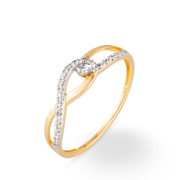 Audacieux Bague Or et Diamant   Bague or diamant, Bague, Bagues en or jaune QX-89
